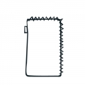 Half Zipper Handphone Case (Vertical)